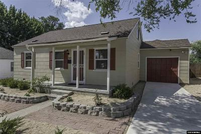 Washoe County Single Family Home New: 969 Williams Ave