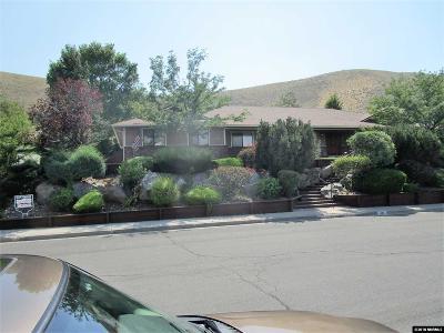 Carson City Single Family Home Active/Pending-Loan: 1098 Crain
