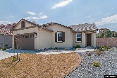 Washoe County Single Family Home New: 10595 Circle Oaks
