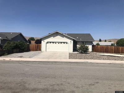Washoe County Single Family Home New: 2287 Ruddy Way