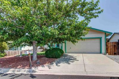 Washoe County Single Family Home New: 8592 Moth Circle