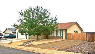 Washoe County Single Family Home New: 1410 Rosy Finch