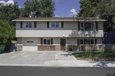 Reno Single Family Home New: 1765 Carlin Street