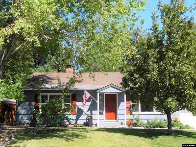 Washoe County Single Family Home New: 1024 Primrose Street