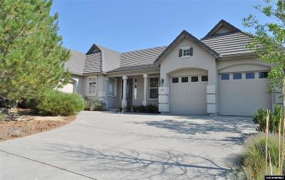 Reno Single Family Home New: 3379 Forest View Lane