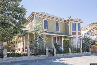 Virginia City Single Family Home For Sale: 226 N B St.