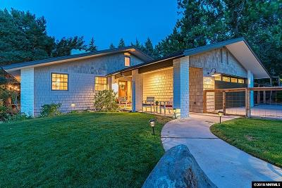 Reno Single Family Home New: 2140 Lakeridge Drive