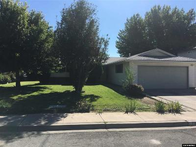 Washoe County Single Family Home New: 796 Marracco