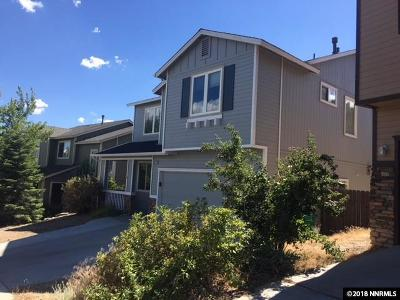 Washoe County Single Family Home New: 2417 Crestone