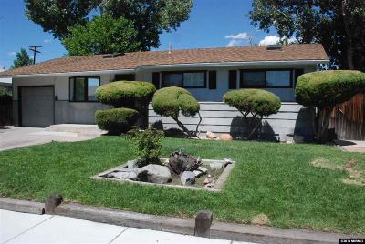 Sparks Single Family Home Active/Pending-Loan: 8 E. Devere