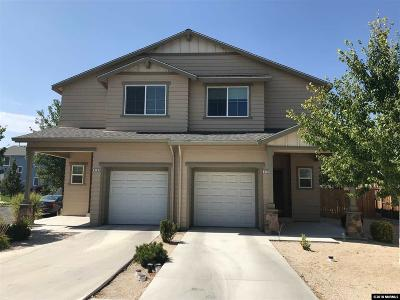 Reno Single Family Home New: 2125 Ascot