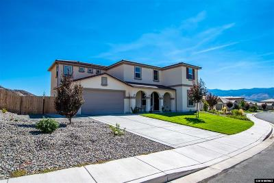Reno Single Family Home New: 2855 Tobiano Drive