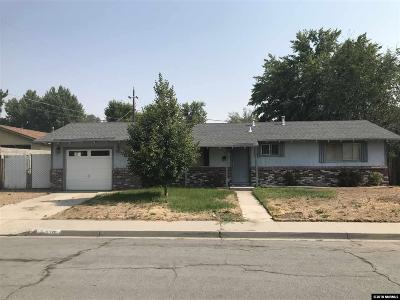 Carson City Single Family Home New: 1770 Camille Dr.