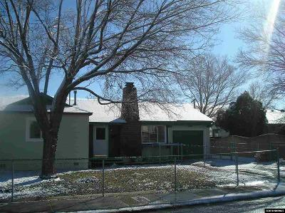 Reno Single Family Home New: 770 Munley