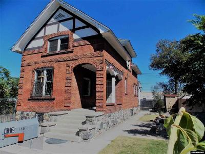 Washoe County Multi Family Home Active/Pending-Call: 612 Quincy