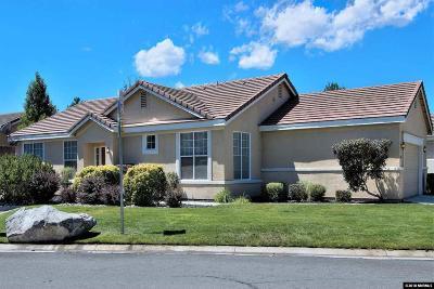 Reno Single Family Home New: 1601 Rocky Cove