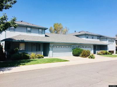 Gardnerville Multi Family Home Active/Pending-Loan: 856 Cabernet Court