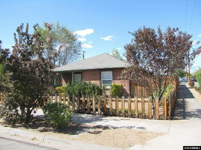 Sparks Single Family Home Active/Pending-Loan: 1402 E. Street
