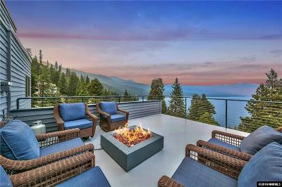 Crystal Bay Single Family Home For Sale: 490 Teresa