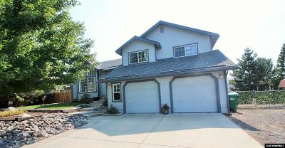 Washoe County Single Family Home Active/Pending-Loan: 15095 Western Springs