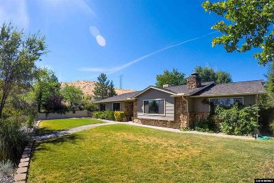 Washoe County Single Family Home Back On Market: 4215 Weems