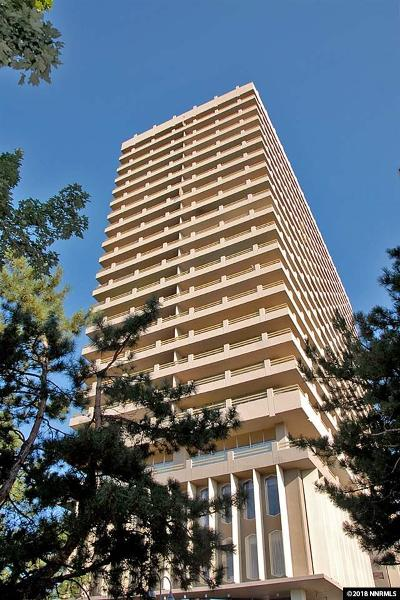 Washoe County Condo/Townhouse For Sale: 100 N Arlington Avenue #22-H