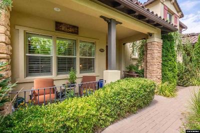 Reno Condo/Townhouse For Sale: 3960 San Donato Loop