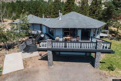 Carson City Single Family Home For Sale: 3510 Mont Blanc