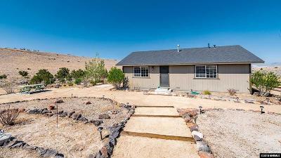 Reno Single Family Home For Sale: 805 Hidden Canyon Dr.