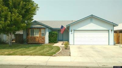 Yerington Single Family Home Active/Pending-Call: 1004 Popo Agie Way