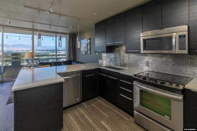 Washoe County Condo/Townhouse For Sale: 100 N Arlington #15-H
