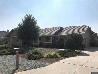 Carson City Single Family Home Active/Pending-House: 4524 Hillview Drive