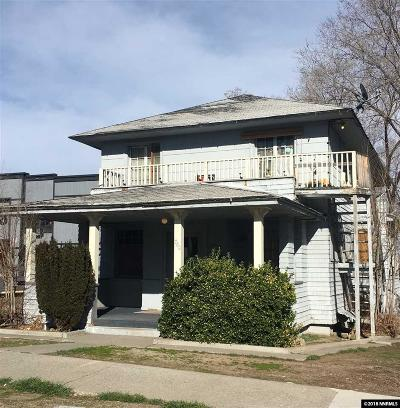 Reno, Sparks, Carson City, Gardnerville Multi Family Home Price Reduced: 780/782 Forest