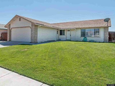 Carson City Single Family Home Active/Pending-Call: 1065 Kennedy Drive