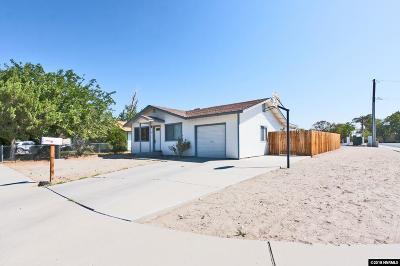 Fallon Single Family Home For Sale: 1091 Tiffany