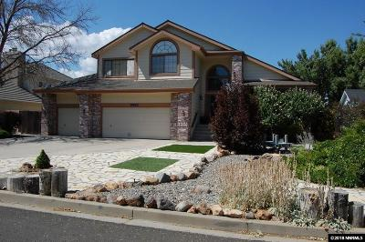 Washoe County Single Family Home For Sale: 14140 Riata Circle