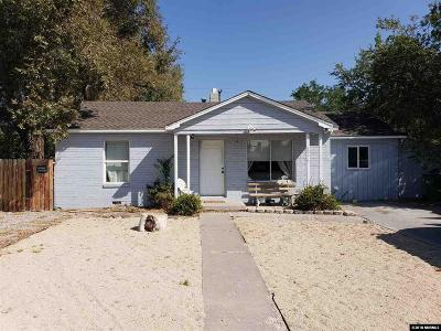 Reno Single Family Home For Sale: 605 Margrave