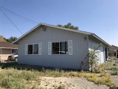 Yerington Single Family Home Active/Pending-Loan: 323 Pearl Street
