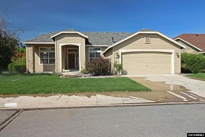 Sparks Single Family Home Active/Pending-Loan: 7881 Morro Ave