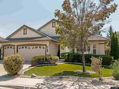 Sparks Single Family Home Price Reduced: 1815 Desert Mountain