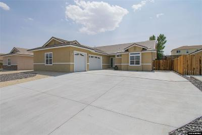 Fernley Single Family Home For Sale: 3029 Stillwater
