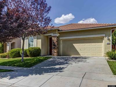 Sparks Single Family Home Active/Pending-House: 3750 Caymus Dr.