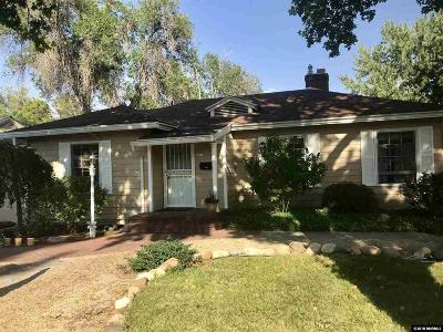 Reno Single Family Home Active/Pending-Call: 2364 Westfield Ave.