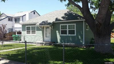 Sparks Single Family Home Active/Pending-Call: 1 Lincoln Way