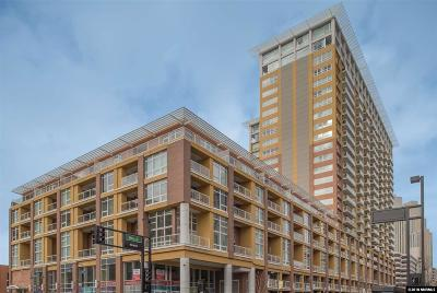 Washoe County Condo/Townhouse Price Reduced: 255 N Sierra #1210