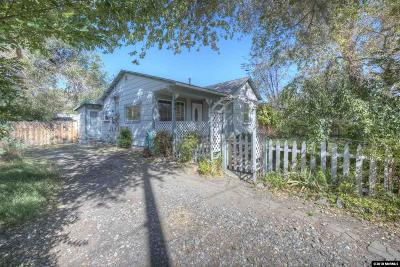 Carson City Single Family Home Active/Pending-House: 1906 Peters Street