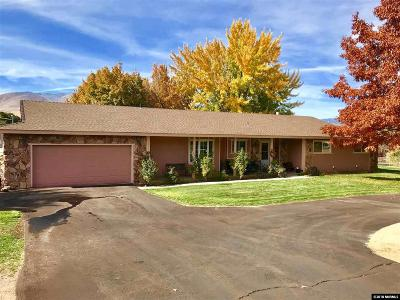 Carson City Single Family Home Price Reduced: 4 Raglan Circle