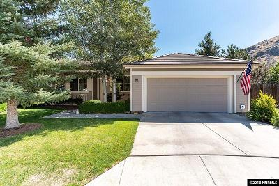 Carson City Single Family Home Active/Pending-Call: 389 Sussex Place