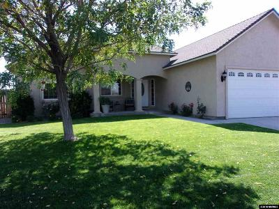 Fernley Single Family Home For Sale: 527 Wedge Ln