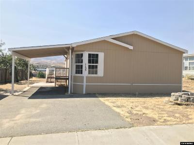 Reno Manufactured Home For Sale: 1135 Chisholm Trail